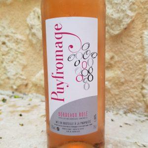 Baud et millet - vin Rosé Puyfromage