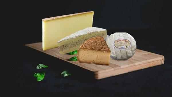 plateau formages tit-plateau Baud et millet bordeaux